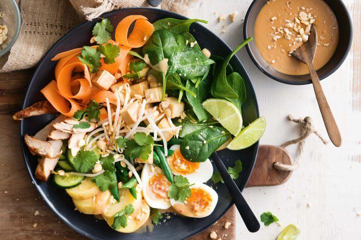 Chicken gado gado salad 1