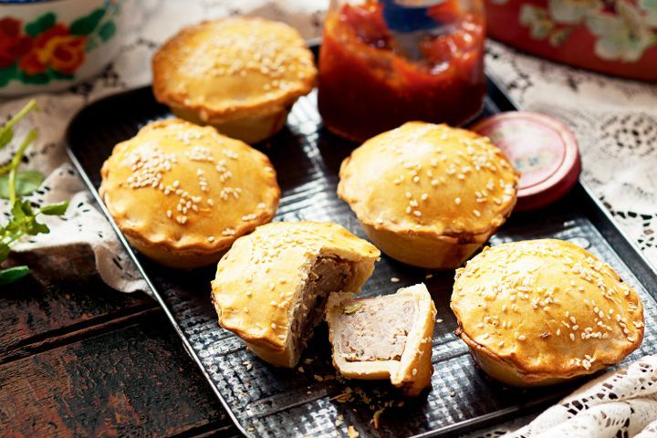 Chinese style pork pies 1