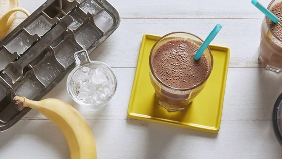Chocolate-Banana Soy Smoothie 1