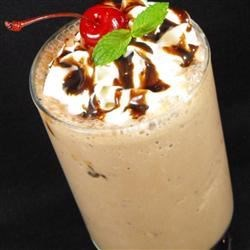 Chocolate Buzz Milkshake 1