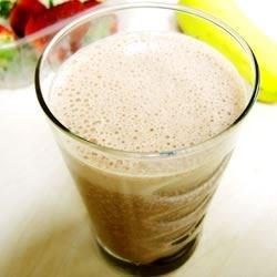 Chocolate Strawberry Banana Milkshake 1