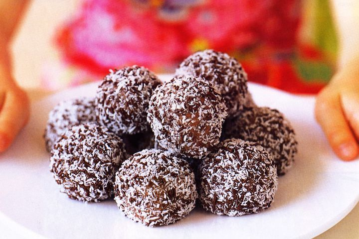 Chocolate baubles 1