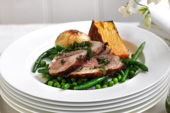 Classic lamb roast 1