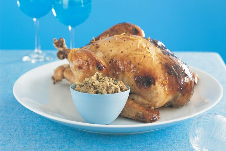 Classic roast turkey with festive stuffing 1
