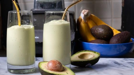 Coconut Avocado Smoothie 1
