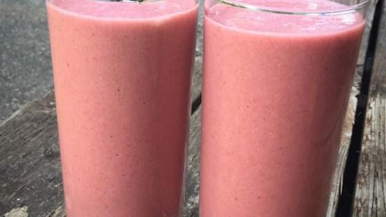 Coconut Raspberry Smoothie 1