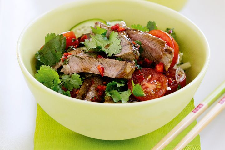 Crying tiger (Thai-style chargrilled beef) 1