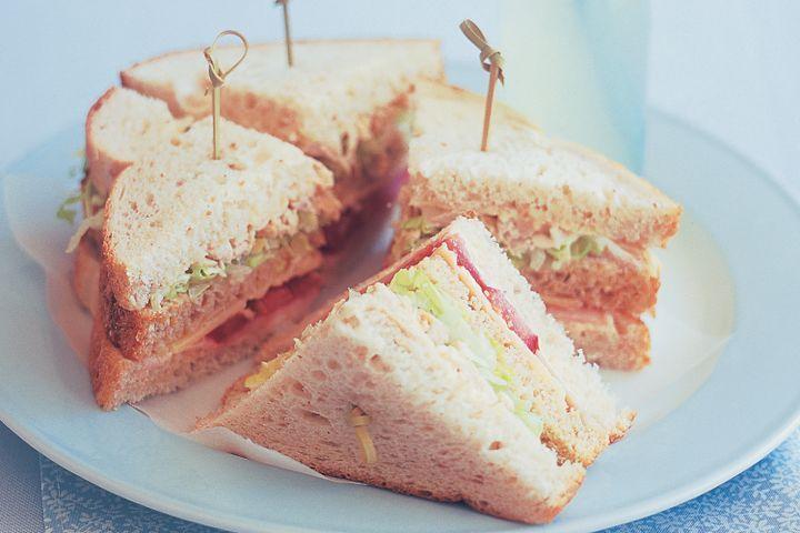 Double decker sandwich 1