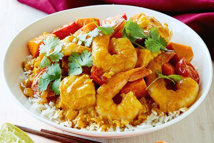 Easy seafood curry 1