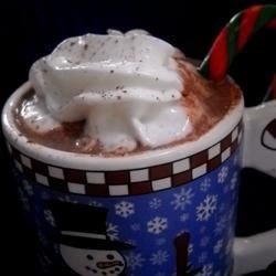 Eggnog Hot Chocolate 1