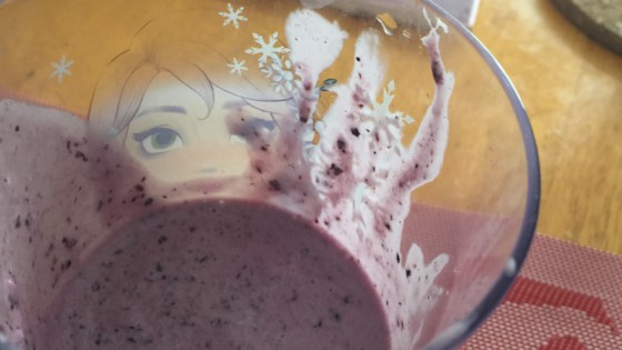 Frozen Blueberry Smoothie 1