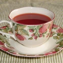 Fuss Free Hot Cranberry Tea