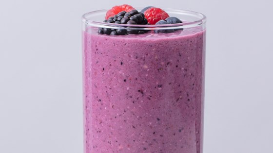 Ginger-Berry Oat Smoothie 1