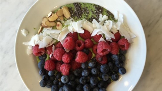 Green Smoothie Bowl 1