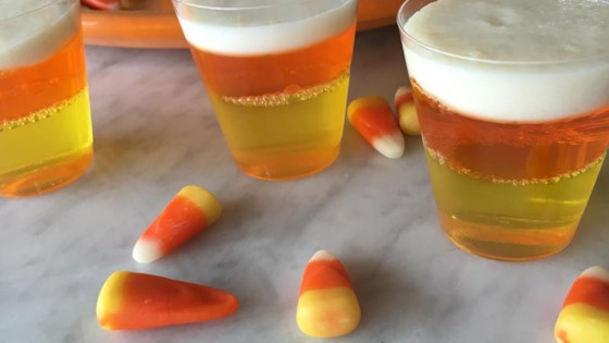 Halloween Candy Corn Jell-O® Shots 1