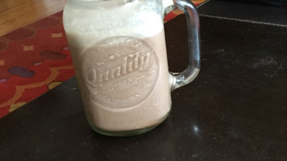 Healthy Chocolate Smoothie 1