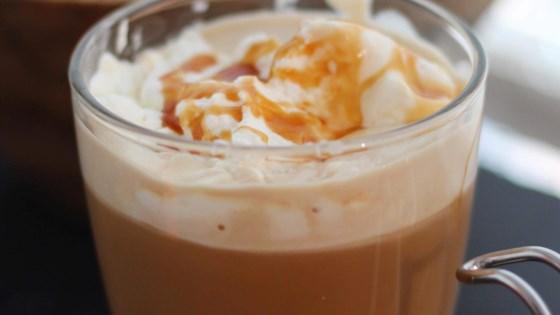 Homemade Caramel Latte 1