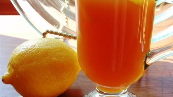 Honey-Lemon Ginger Tea 1