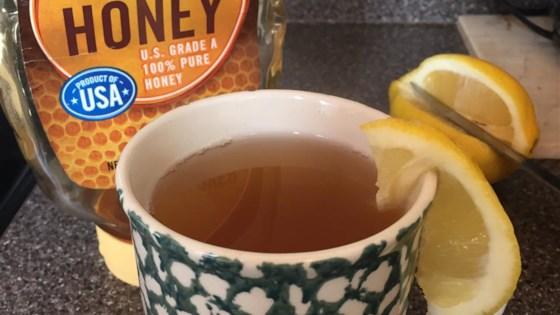 Honey Lemon Tea 1