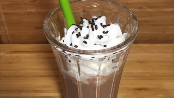 Hot Chocolate Milkshake 1