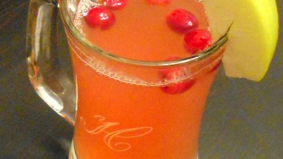 Hot Cranberry Tea 1