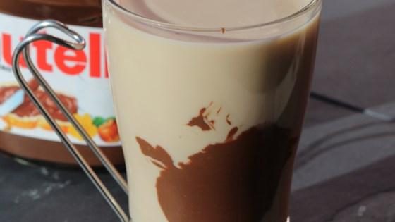 Iced Almond Milk Nutella® Latte 1
