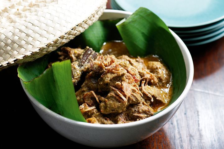 Kari kambing (Lamb curry) 1