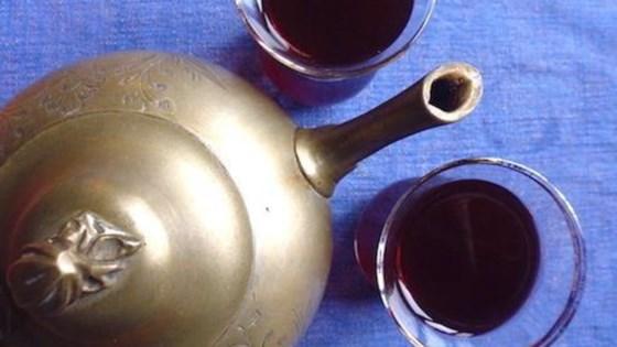 Karkadeh (Egyptian Hibiscus Iced Tea) 1