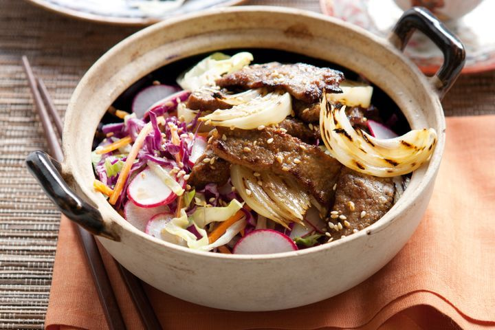 Korean barbecue beef 1