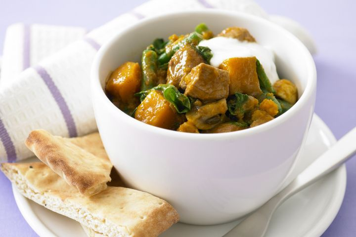 Lamb and pumpkin curry 1