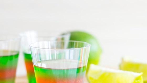Layered Margarita Jell-O® Shots 1