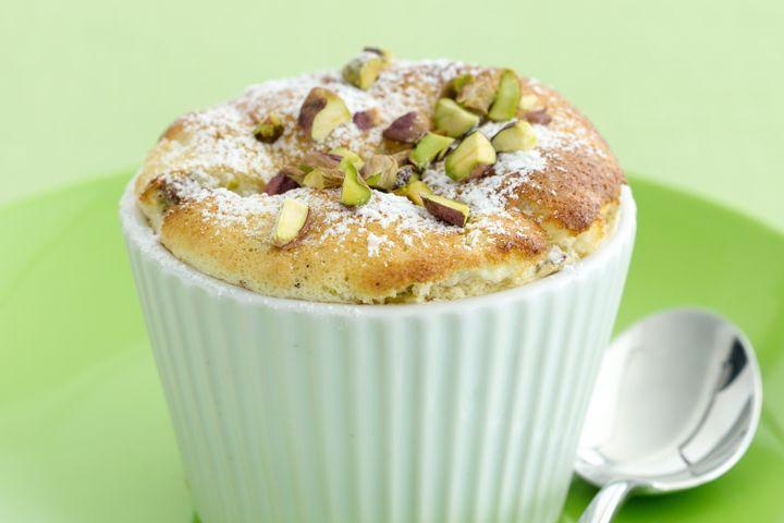 Lemon and pistachio puddings 1