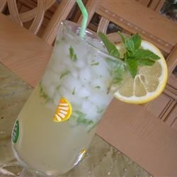 Lemonade-Mint Iced Tea 1