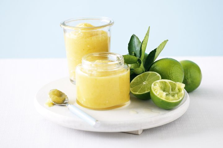 Lime and coconut curd 1