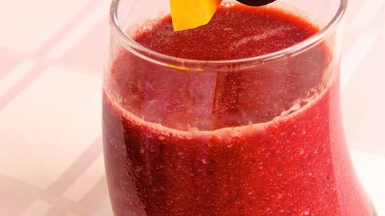Mango Cherry Smoothie 1