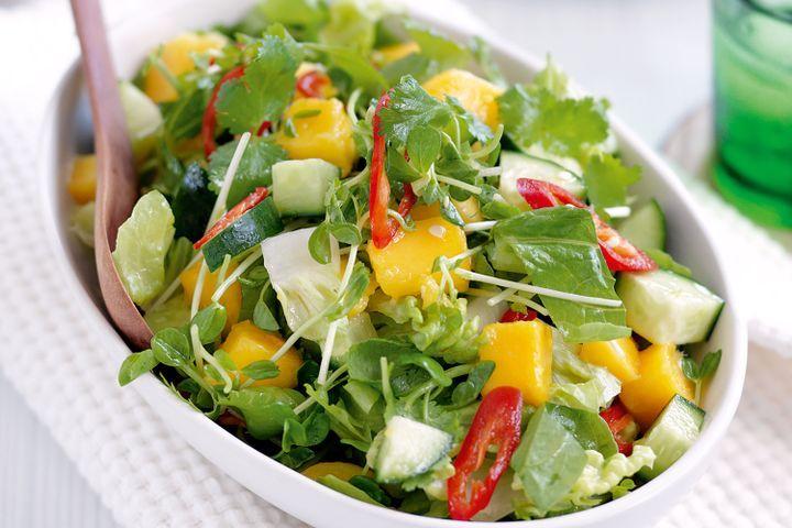 Mango and chilli chopped salad 1