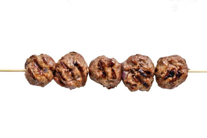 Meatball kebabs 1