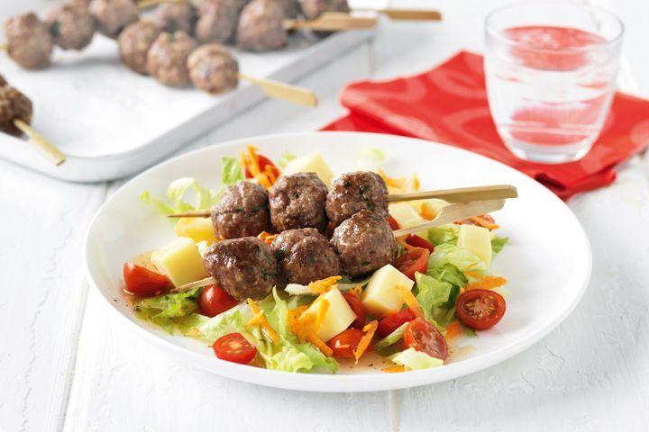 Meatball skewers 1