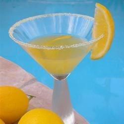 Meyer Lemon Martini