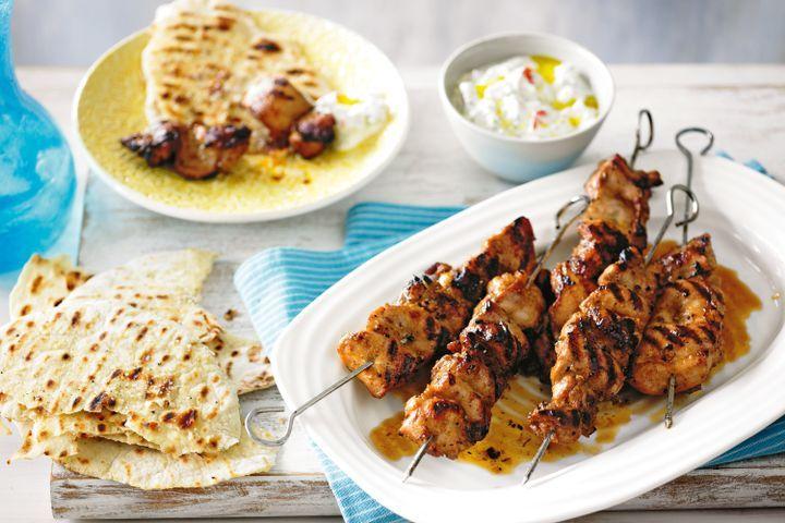 Middle Eastern chicken skewers 1