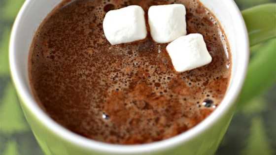 Minty Eggnog Hot Chocolate 1