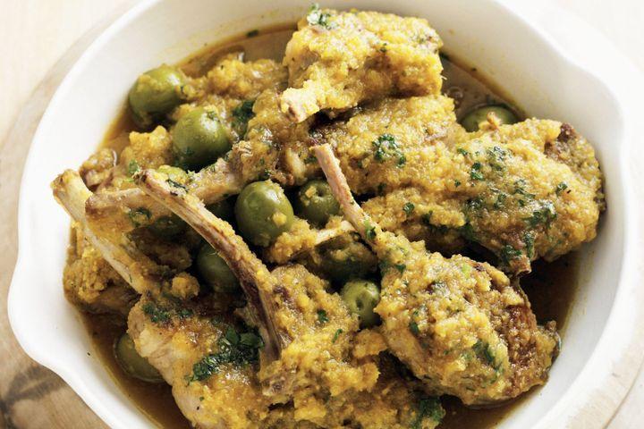 Moroccan lamb pan-fry 1
