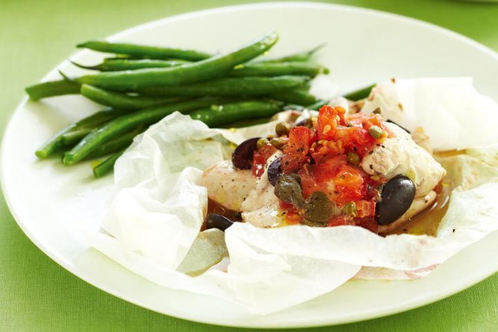 Olive and tomato chicken 1