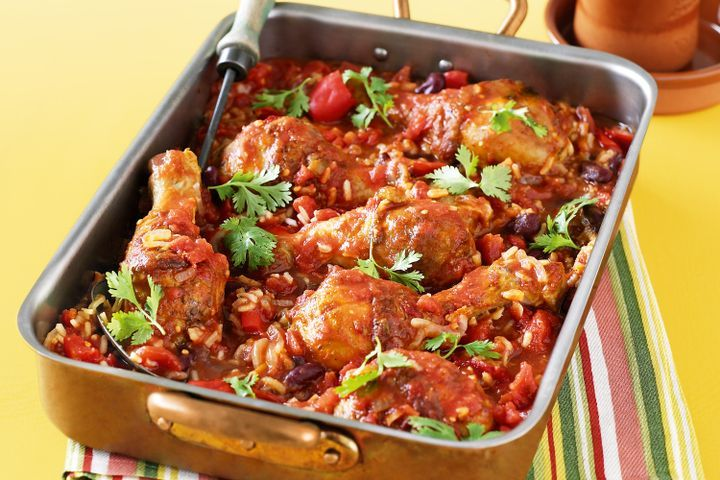 One-pan Mexican chicken 1