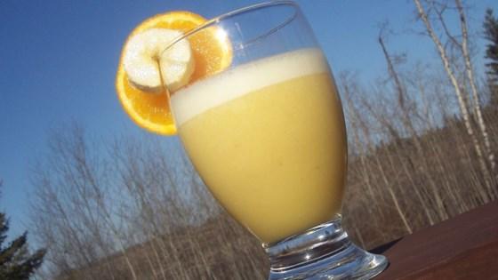 Orange Cream Drink 1