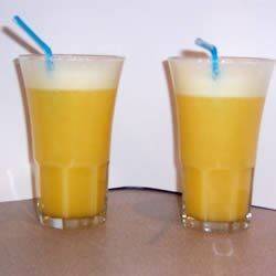 Orange Pineapple Slushie