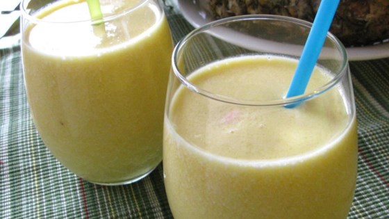 Orange Pineapple Smoothie 1