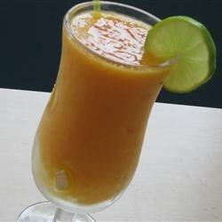 Pawpaw (Papaya) And Mango Punch 1