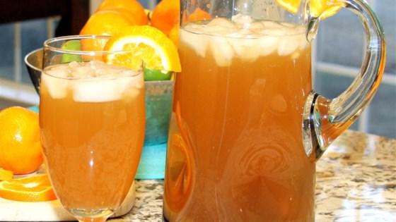 Peach Orange Iced Tea 1