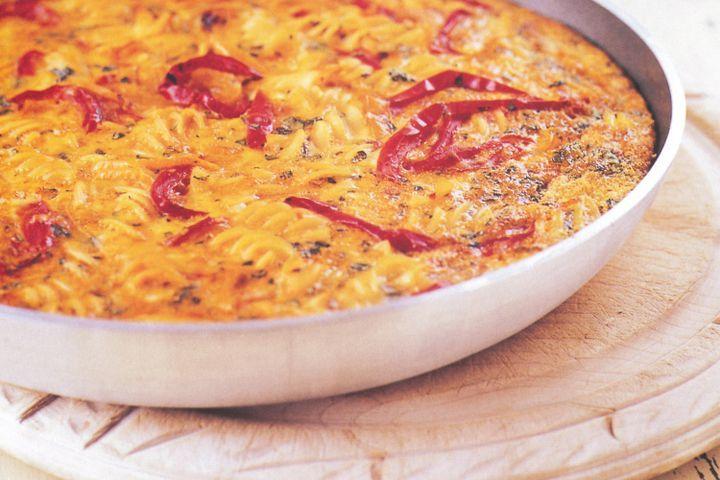 Peperonata frittata 1